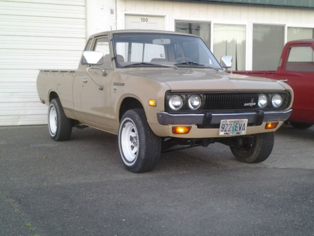 1978 Datsun 620 Kingcab Deluxe Pickup For Sale Photos