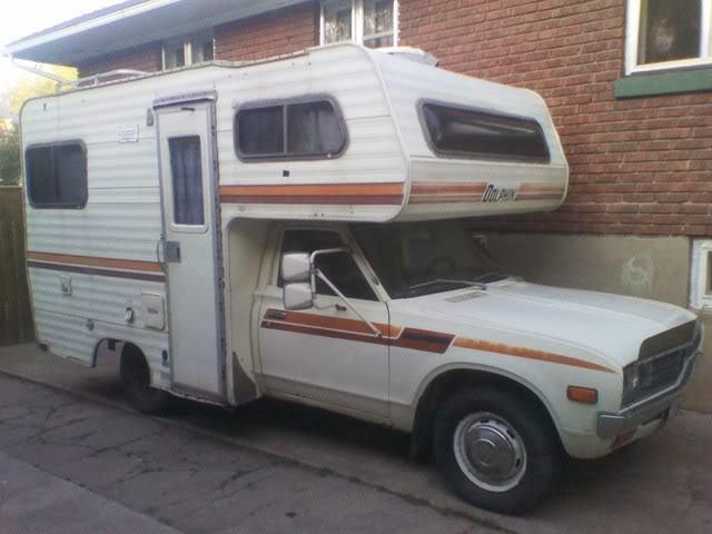 1978 datsun nissan dolphin rv camer housecar motorhome for Small motor homes for sale