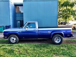 1978 dodge aventurer dually ram 3500 for sale photos technical. Cars Review. Best American Auto & Cars Review