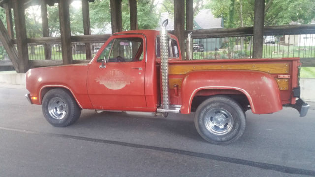 1978 Dodge Other Pickups little red express