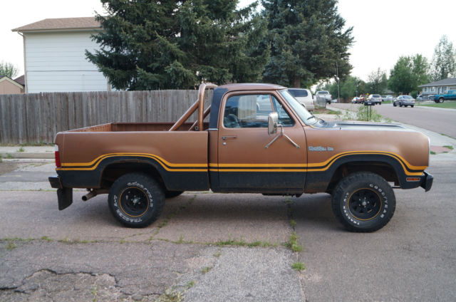 1978 dodge macho power wagon w150 for sale photos technical. Cars Review. Best American Auto & Cars Review