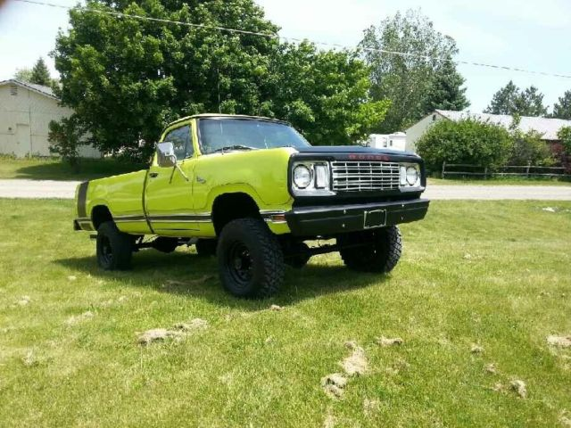 1978 Dodge Power Wagon DQ100