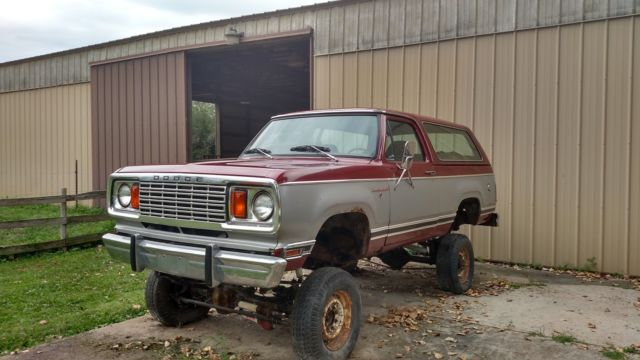 1978 Dodge Ramcharger SE