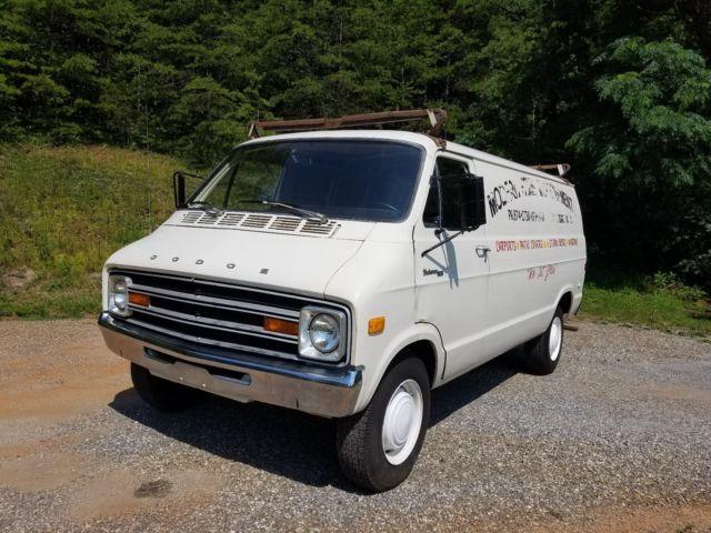 1978 Dodge Tradesman 300 Van Street