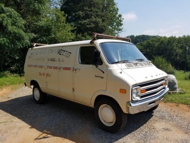 1978 Dodge Tradesman 300 Van Street Van for sale: photos