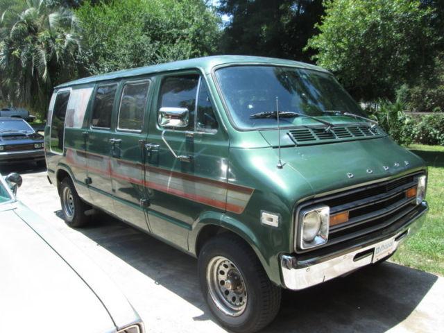 1978 Dodge Tradesman B200 Steet Van custom Van Royal NICE
