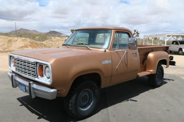 1978 Dodge Power Wagon @ NO RESERVE!! W150 POWER WAGON CA TRUCK CLEAN!