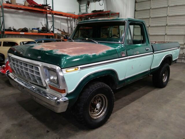 1978 Ford F-150 Ranger XLT Lariat 4x4 SWB AC PS PB Loaded!