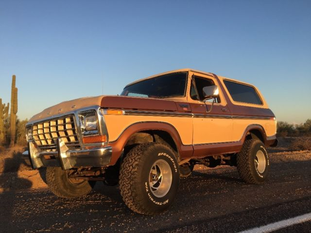 1978 Ford Bronco Ranger Xlt F100 F150 F250 F350 For Sale