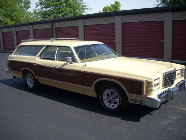 1978 ford country squire station wagon for sale photos. Black Bedroom Furniture Sets. Home Design Ideas