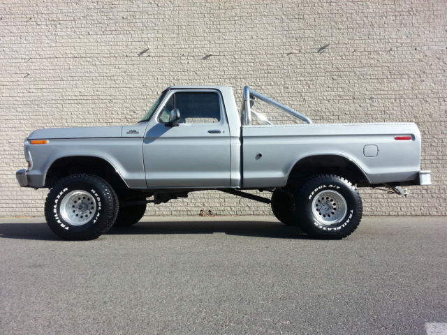 1978 Ford F 150 Short Bed Ranger 4x4 Rancho Lift Rebuilt