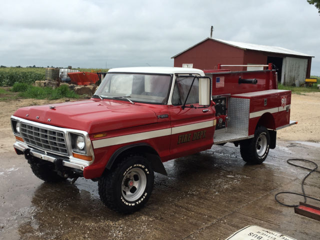 1978 ford f 250 fire truck for sale photos technical specifications description. Black Bedroom Furniture Sets. Home Design Ideas
