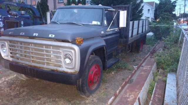 1978 Ford Other F600 Flatbed Tilting truck
