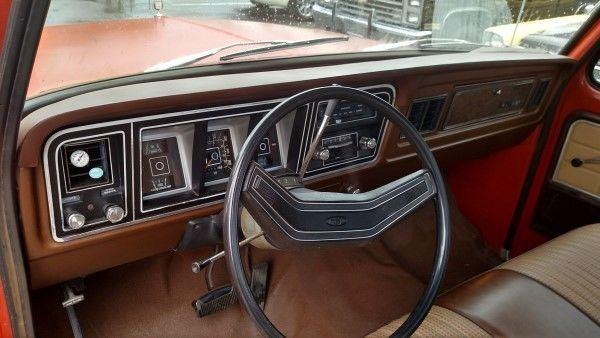 1978 Ford F100 Ranger Xlt Lariat Short Bed Pickup 73 74 75
