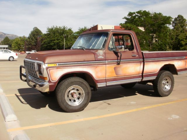1978 Ford F-150 Free Wheeling Trim Package