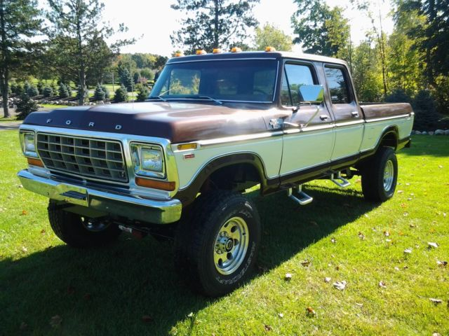 1978 ford f250 crew cab 4x4 for sale photos technical specifications description. Black Bedroom Furniture Sets. Home Design Ideas