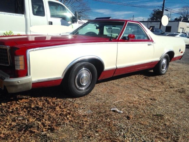 1978 Red Ford Ranchero with Red interior