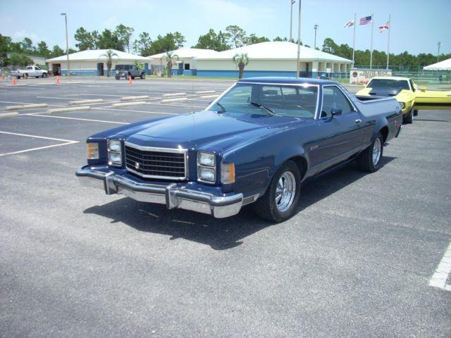 1978 ford ranchero gt brougham