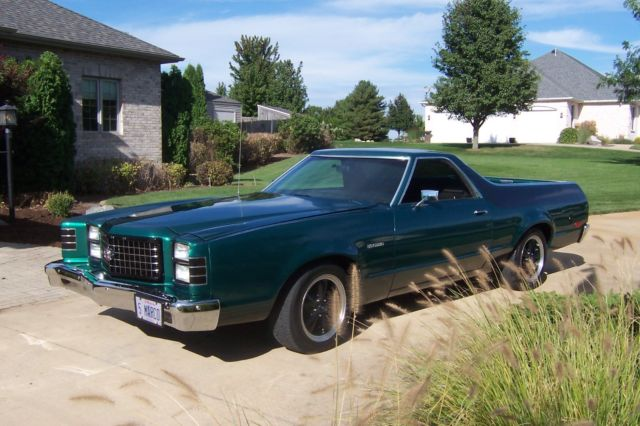 1978 ford ranchero with gt trim - 1978 Ford Ranchero