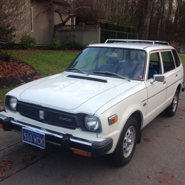 1978 Honda Civivc CVCC Wagon For Sale: Photos, Technical