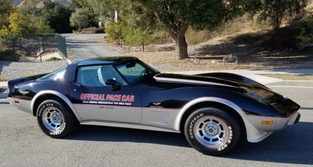 1978 Chevrolet Corvette Indianapolis 500 Pace Car 25th Anniversary