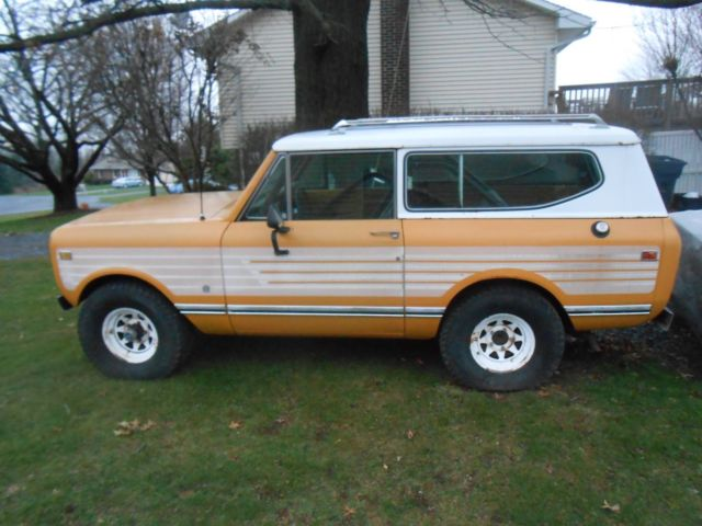1978 International Harvester Scout Pick Up