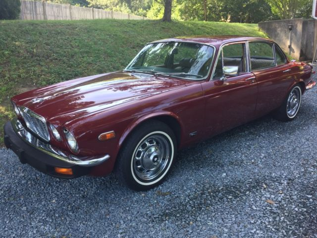 1978 Jaguar XJ6 XJ6L 4 Door