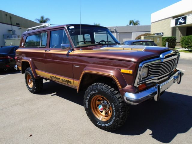 1978 Jeep Cherokee Golden Eagle