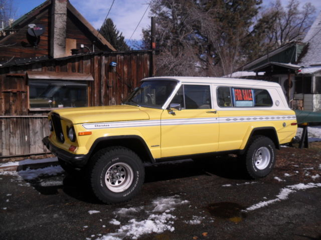 1978 Jeep Cherokee Chief Sport For Sale Photos