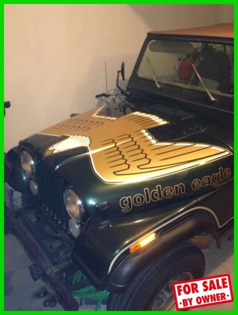 1978 Jeep CJ Golden Eagle 4X4