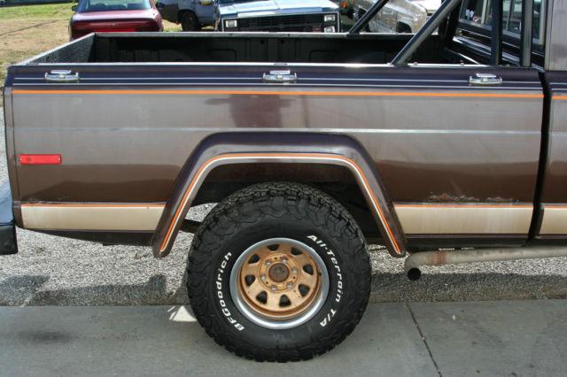 1978 jeep j10 golden eagle pickup for sale photos. Black Bedroom Furniture Sets. Home Design Ideas