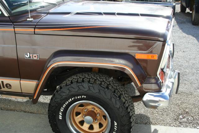 1978 jeep j10 golden eagle pickup for sale photos
