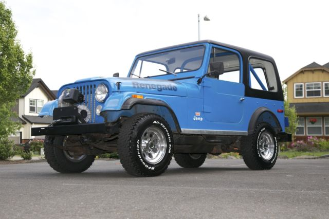 1978 Jeep Wrangler CJ-7 Renegade Lev