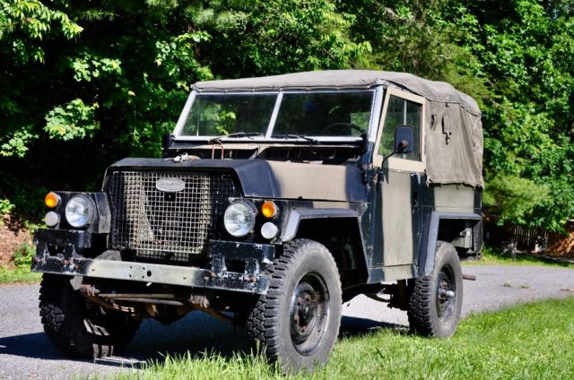 1978 Land Rover Series III Black