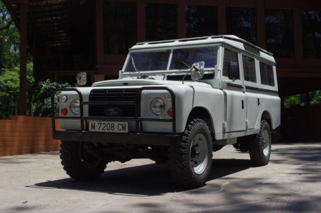 1978 Land Rover Defender diesel 109 like defender 110