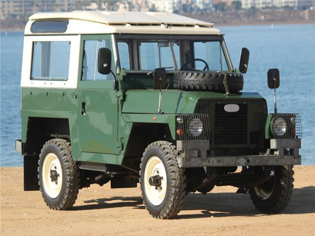 1978 Land Rover SIII --