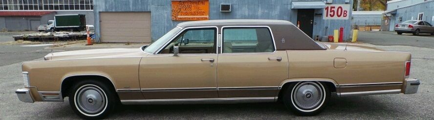 1978 Lincoln Continental Mark V Cartier