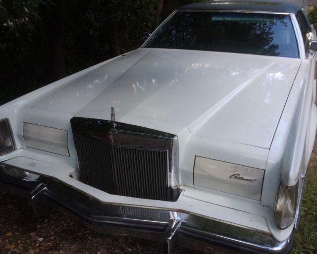 1978 Lincoln Continental Mark V - Wedgewod Blue Luxury Option Group
