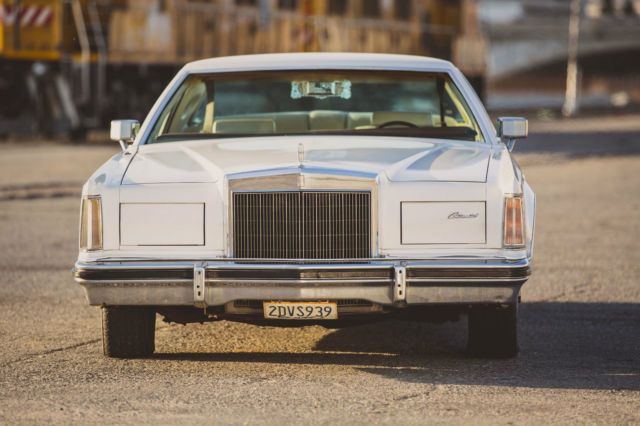1978 Lincoln Continental MARK V Cartier Edition Coupe 2-door