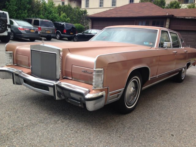 1978 Lincoln Continental Town Car 77k All Original For Sale Photos