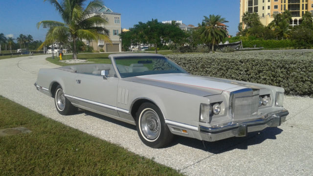 1978 Lincoln Mark Series convertible