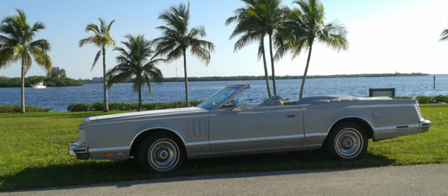1978 Lincoln Mark V Custom Limited Convertible NO RESERVE ...
