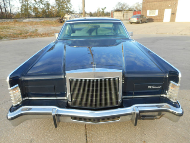 1978 Lincoln Continental NO RESERVE AUCTION