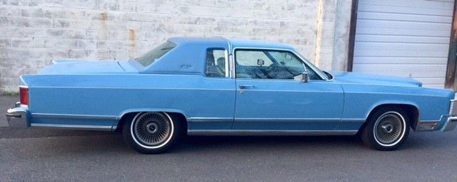 1978 Lincoln Town Coupe One Owner All Original Excellent