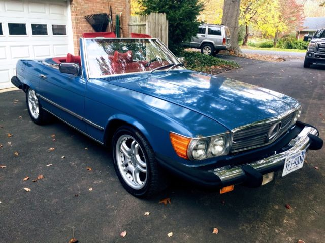 1978 Mercedes-Benz 400-Series Red Leather