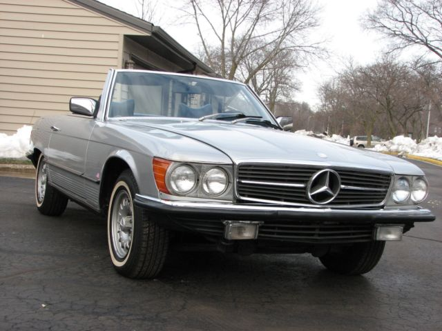 1978 Mercedes-Benz SL-Class European 350SL Roadster
