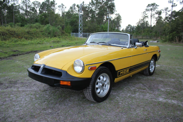 1978 MG MGB Convertible 1.8L 4 Speed Must Look Clean