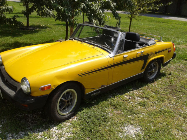 1978 MG Midget Stripes