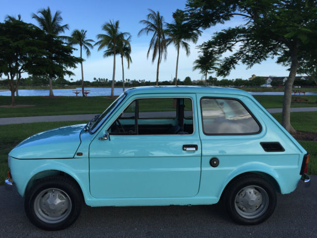 1978 Other Makes Polski Fiat 126P 650E