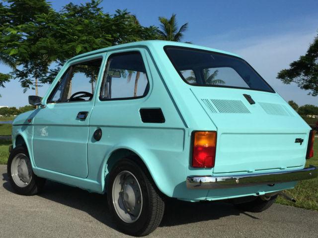 Antic Cars For Sale >> 1978 Polski Fiat 126P Poland micro car mini classis antic vintage for sale: photos, technical ...